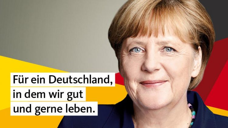 Wahlplakat CDU Wahlkampf 2017
